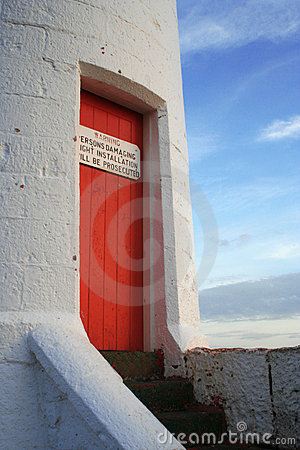Lighthouse door