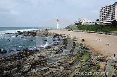 Lighthouse in Durban