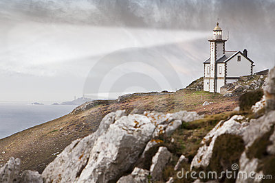Lighthouse in France