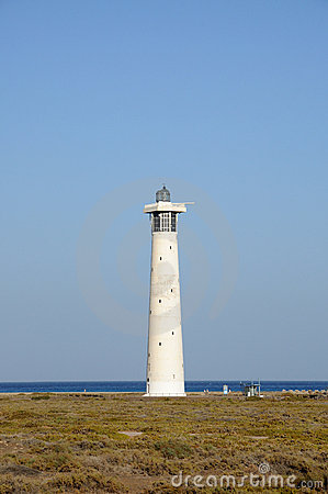 Lighthouse in Fuerteventura, Spain