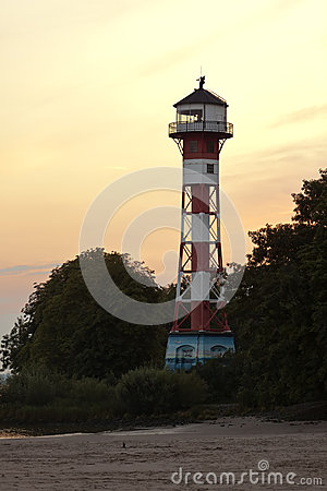 Lighthouse at Hamburg