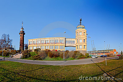 Lighthouse and harbor master s office