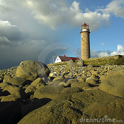 Free Lighthouse In Norway Royalty Free Stock Image - 14812246