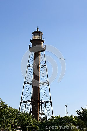 Free Lighthouse In Sanibel Island Florida Royalty Free Stock Image - 67654386