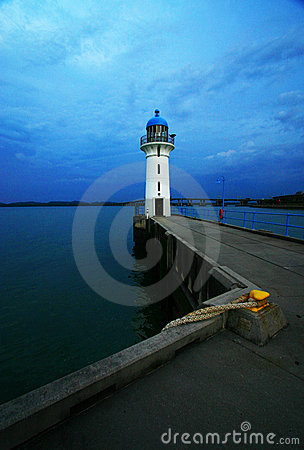 Free Lighthouse In The Dusk Stock Photo - 4686690
