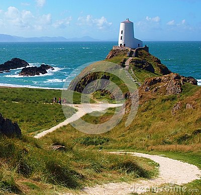 Free Lighthouse In Wales Royalty Free Stock Photo - 103185825