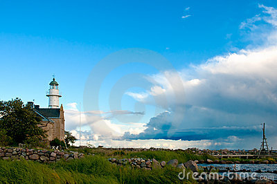 Lighthouse on the island Oeland, Sweden