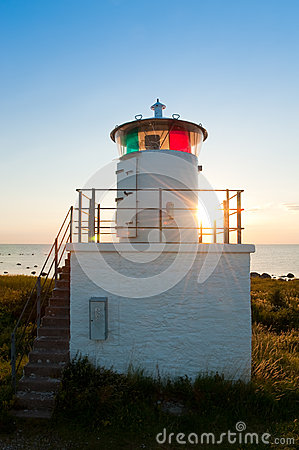 Lighthouse on the island Oland, Sweden