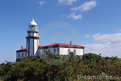 Lighthouse on the island Ons