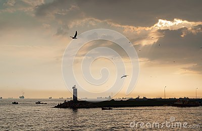 Lighthouse in Istanbul