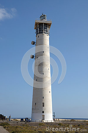 Lighthouse in Jandia Playa, Fuerteventura