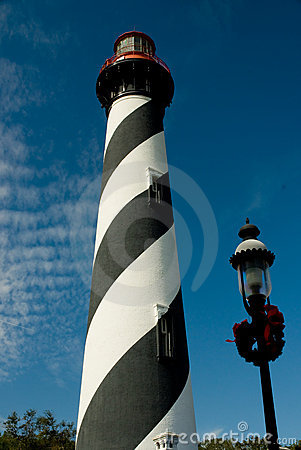 Lighthouse and Lamppost
