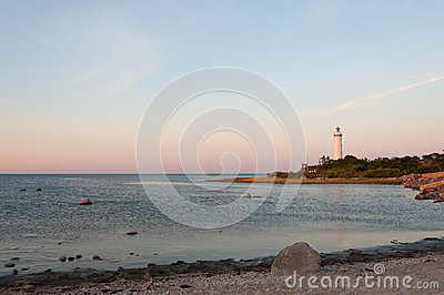 The lighthouse Long Eric, Sweden