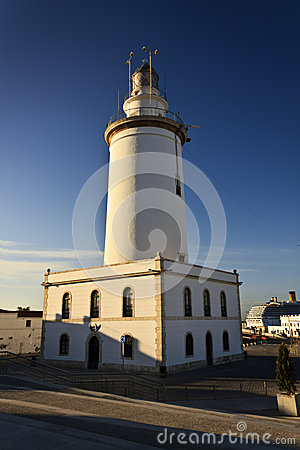 Lighthouse in Malaga