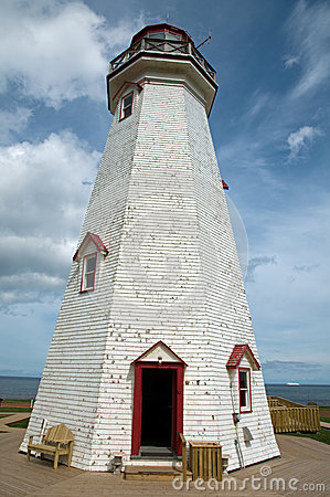 Lighthouse in Maritime Canada