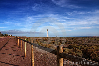Lighthouse, Morro de Jable, Jandia playa, Fuerteve