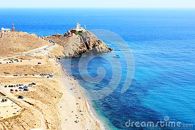 LIGHTHOUSE NEAR CABO DE GATA