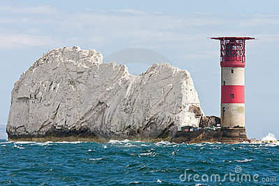 Lighthouse at the Needles
