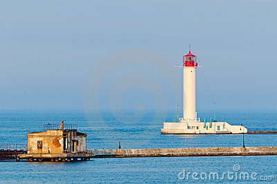 Lighthouse in Odessa Ukraine