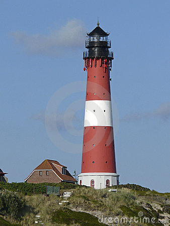 Free Lighthouse Of Hoernum On The Island Of Sylt Stock Image - 16303041