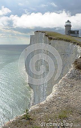 Free Lighthouse On Beachy Head. England Royalty Free Stock Photography - 45560637