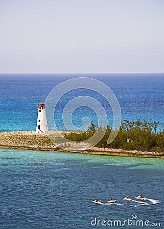 Lighthouse at Paradise Island