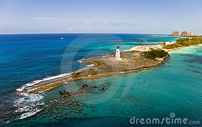 Lighthouse at Paradise Island