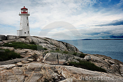 Lighthouse on Peggy s Cove