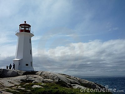 Lighthouse at Peggy s Cove