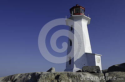 Lighthouse at Peggy s Cove, Nova Scotia