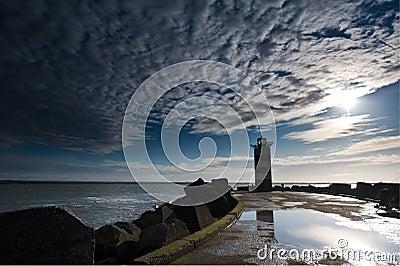Lighthouse on pier