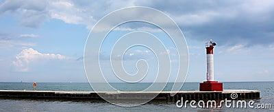 Lighthouse Pier Panoramic