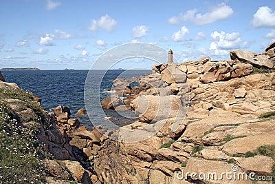 Lighthouse of Ploumanach