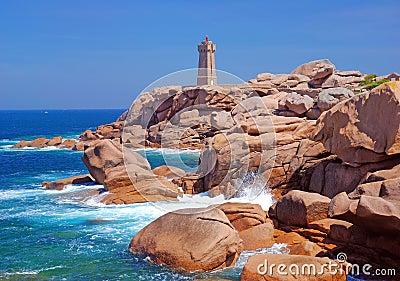 Lighthouse,Ploumanach,Brittany