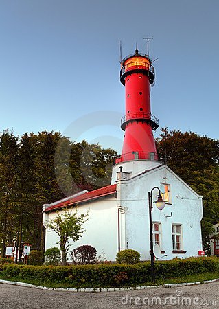 Lighthouse in Poland