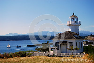 Lighthouse in Port Townsend