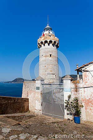 The Lighthouse Of Portoferraio, Elba Island