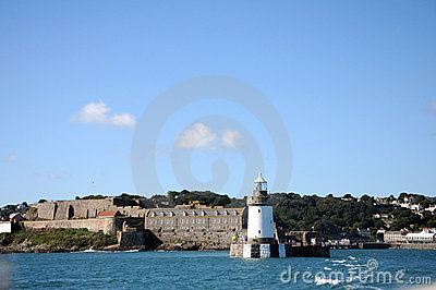 Lighthouse at Saint Peter Port, Guernsey