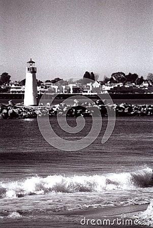 Lighthouse in Santa Cruz