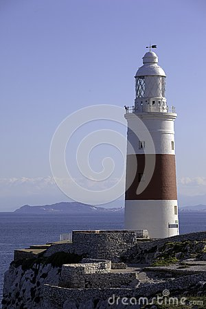 Lighthouse in southern Europe
