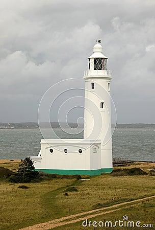 Lighthouse on a stormy day