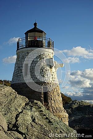 Lighthouse on Sunny Day