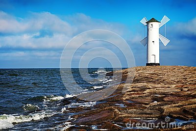 Lighthouse in Swinoujscie