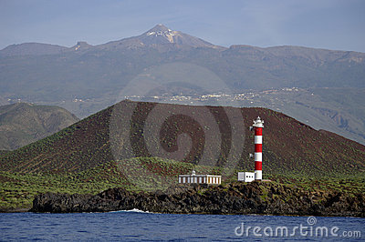 A lighthouse in Tenerife (Faro de Rasca).