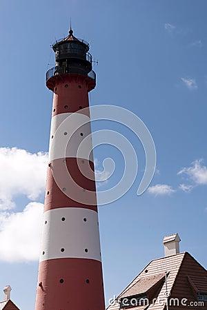 Lighthouse Westerheversand in Westerhever