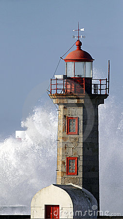 Free Lighthouses Of River Douro Stock Photography - 16816252
