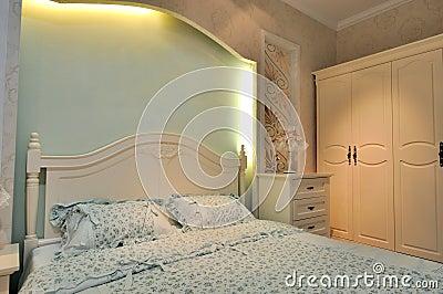 Lighting color bedding room