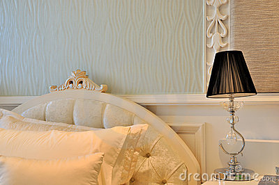 Lighting decoration bedroom interior