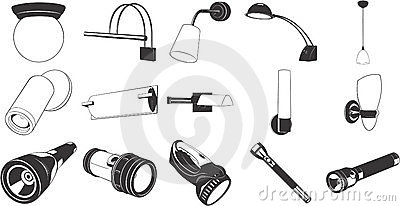 Lighting Fixtures and Flashlight