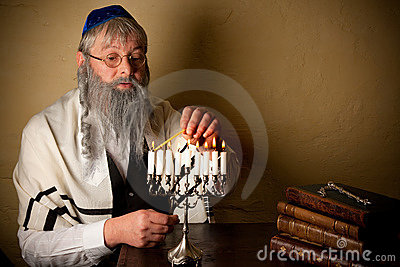 Lighting for hannukah
